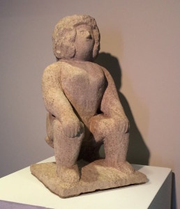 Miss Whooten/Seated Nude - William Edmondson ca. 1941-1949. Courtesy Christie's Auctions
